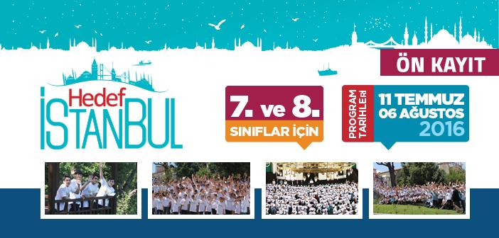 Hedef İstanbul 2016 Yaz Programı