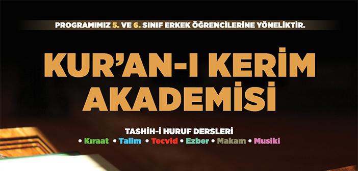 KUR'AN-I KERİM AKADEMİSİ