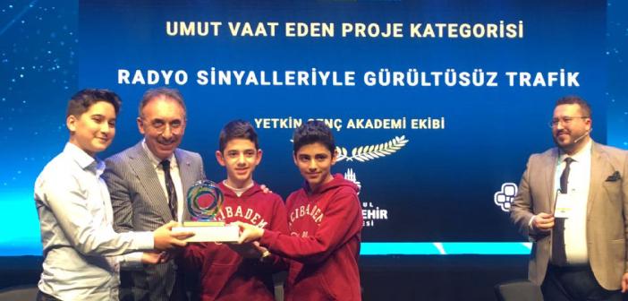 Yetkin Genç Akıllı Şehir Fikir ve Proje Yarışması'nda Ödül Aldı