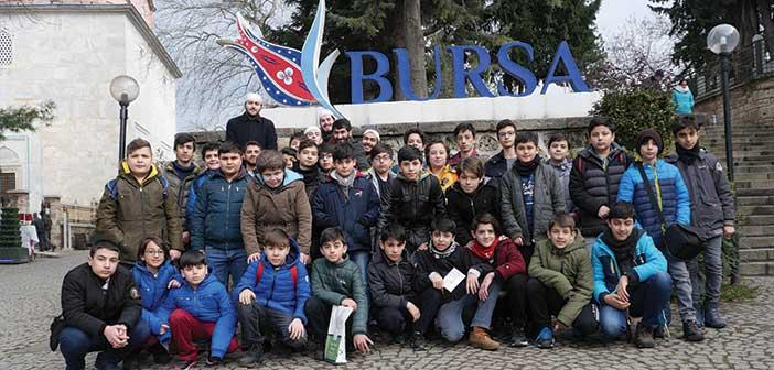 Bursa Kültürel Gezi Ve Kitap Okuma İhtisas Kampı Gerçekleştirildi