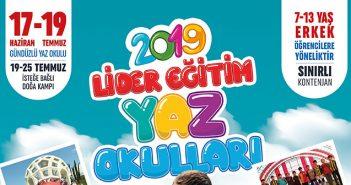Lider Eğitim 2019 Yaz Okulları Başlıyor!..