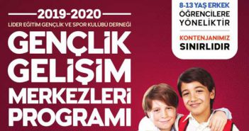 2019-2020 Gençlik Gelişim Merkezleri Programı